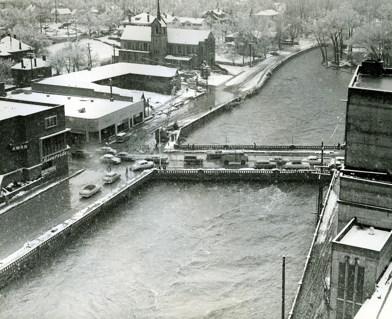 The flood of 1955