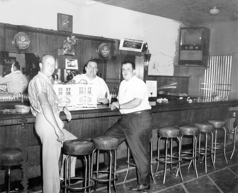 At the bar, ca. 1950