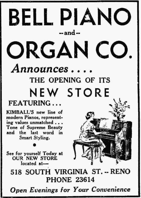 Bell Piano & Organ Co., 1940