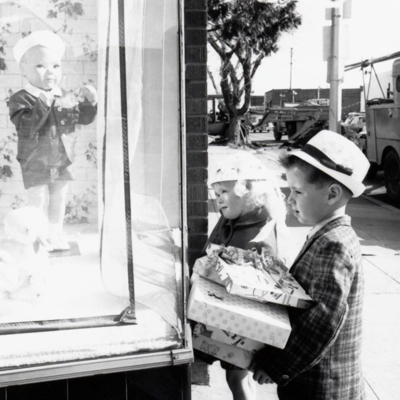 Easter shopping c. 1965