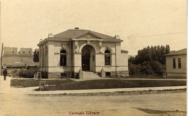 The new library, ca. 1906