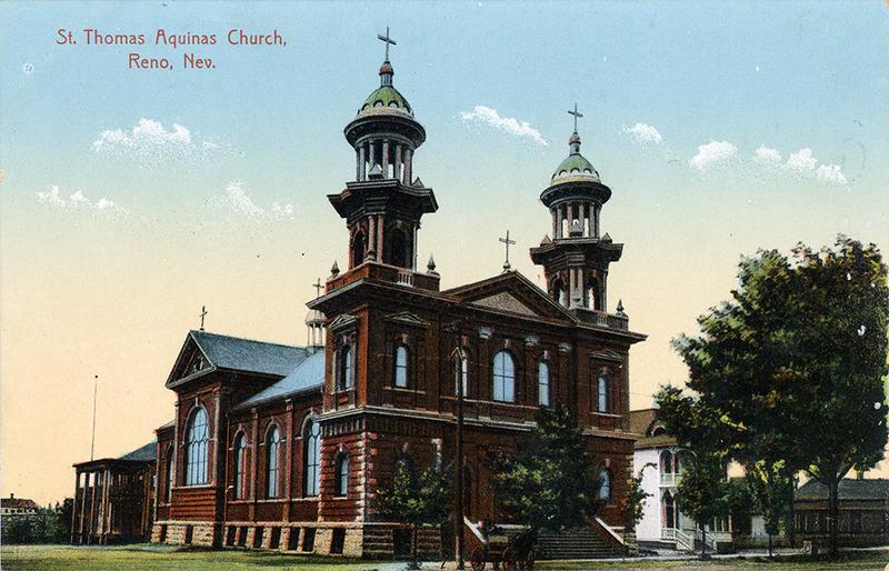 Postcard of St. Thomas Aquinas Church