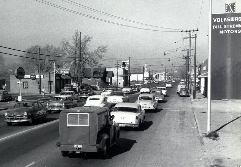 Street view ca. 1957