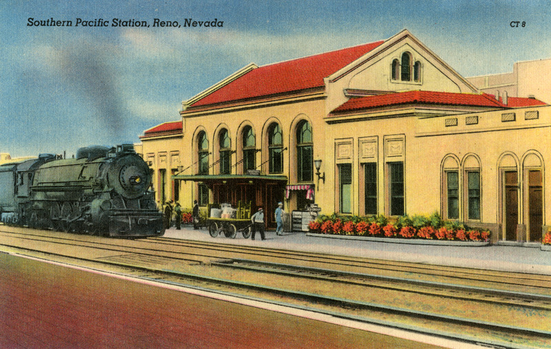 The new depot, ca. 1930