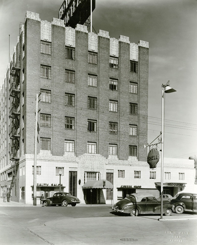 After the expansion of the El Cortez