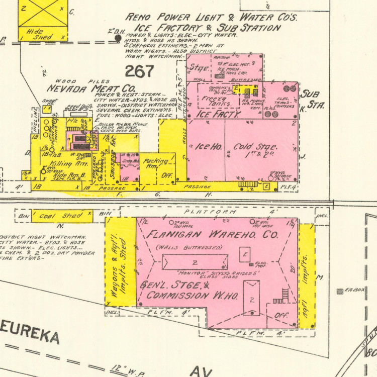 Site map, 1906