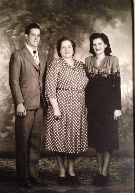 Family photo, 1950