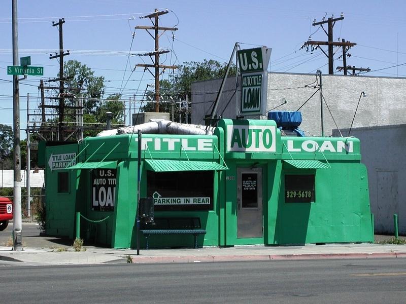 Auto Title Loan, 2002