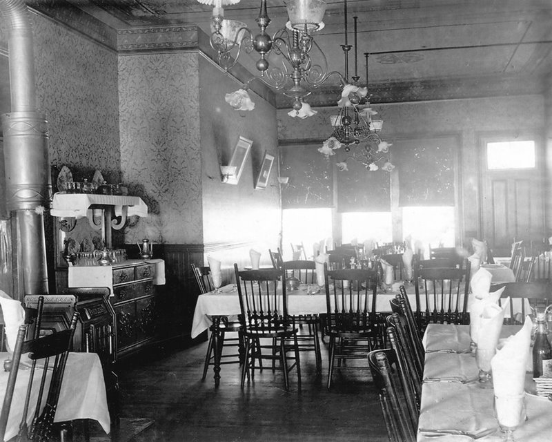 Riverside dining room