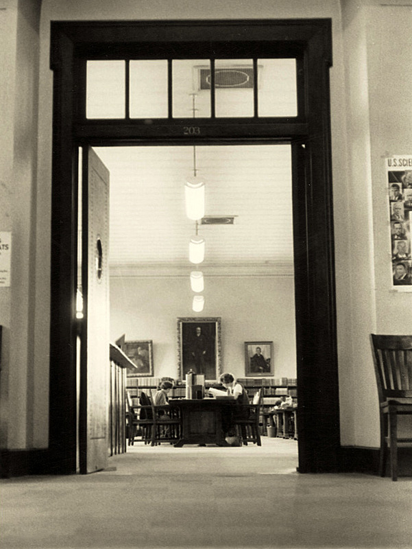 Reading room, ca. 1960
