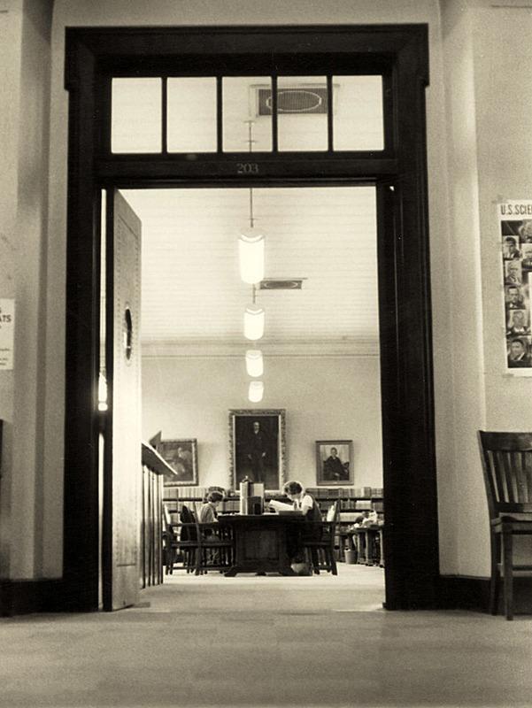 Reading room, ca. 1960