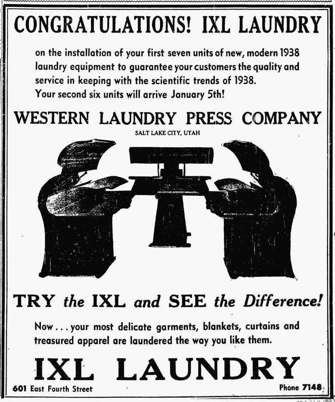 New, Modern Laundry Equipment