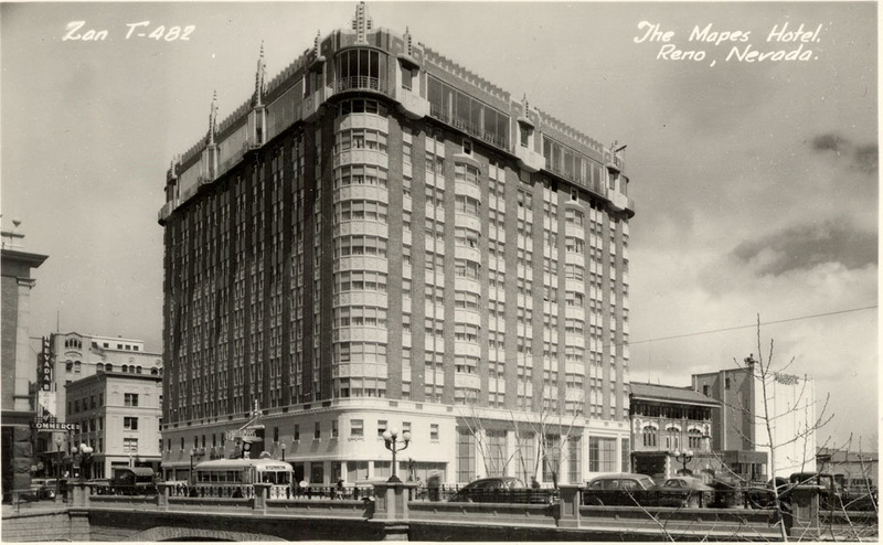 The Mapes was a magnificent hotel