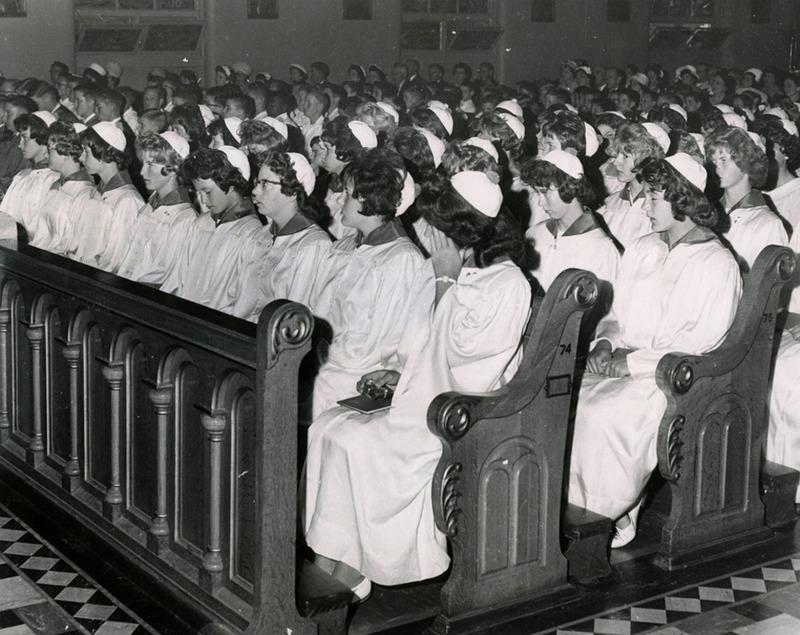 8th grade graduation, 1962