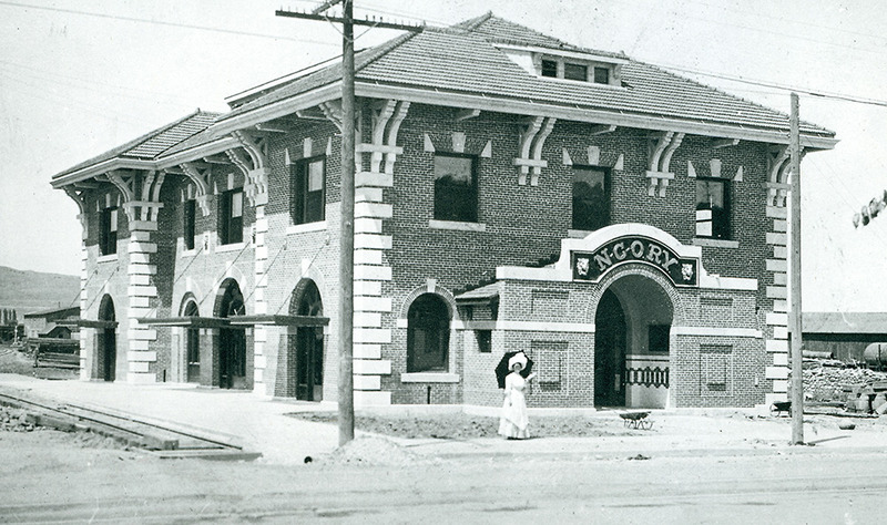 The New Depot, 1910