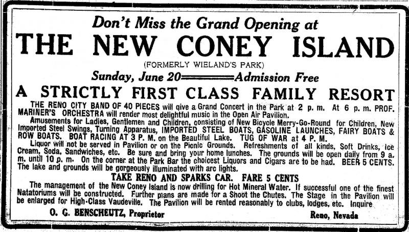 Grand Opening, 1909
