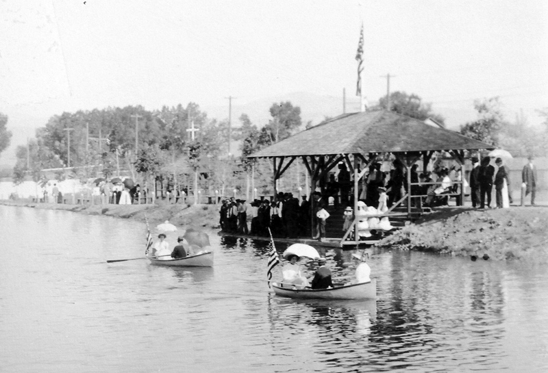 Boating at Coney Island, 1909