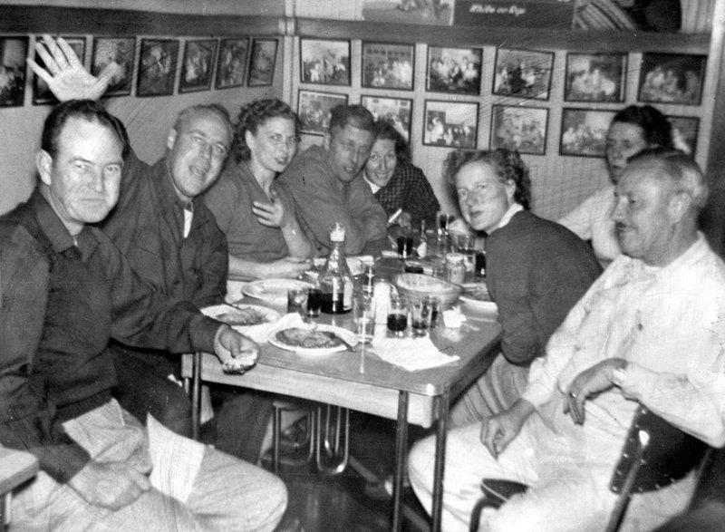 Popular restaurant, ca. 1950