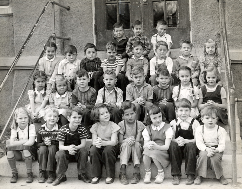 First graders, 1945