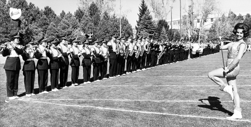 Marching band, 1962