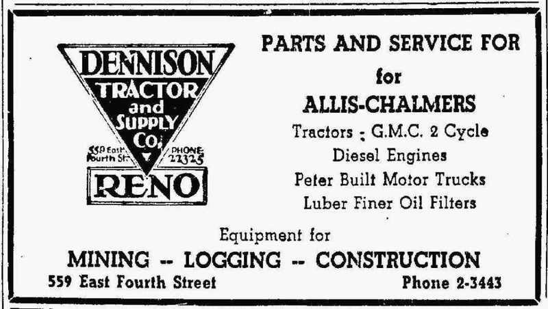 Dennison Tractor & Supply, 1944