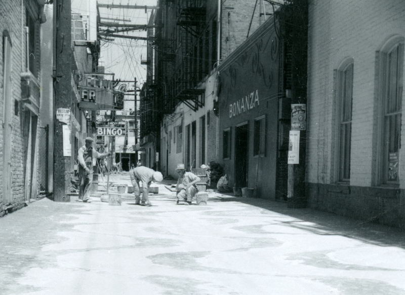 Lincoln Alley, 1949