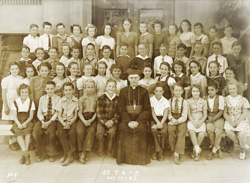 St. Thomas Aquinas School children, 1943