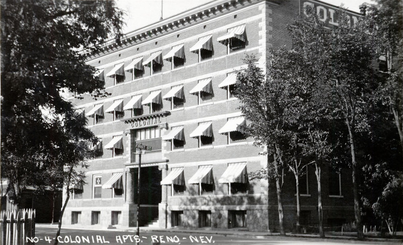 The Colonial Apartments in the 1930s