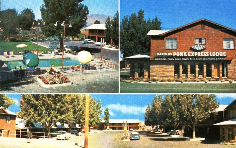 Pony Express Lodge, 1950s