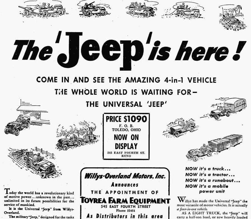 The Universal Jeep, 1945