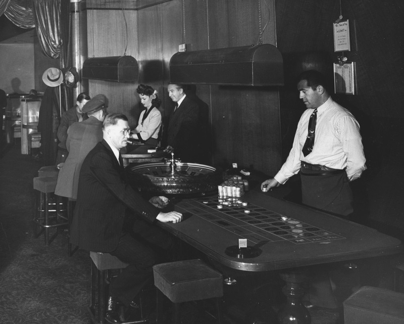 Table games in the El Cortez