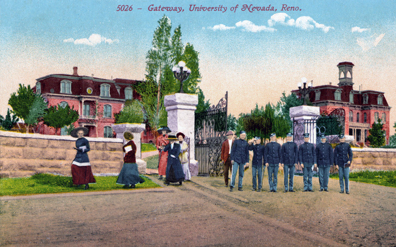 Gateway to the university, 1910