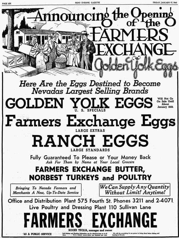 Farmers Exchange opening