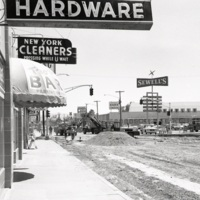 Street widening, 1965